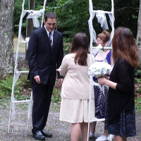 Wedding Photos: Trisha and Joshua in Old Forge, 8/22/14 2