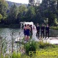 Wedding: Aubrey and Bill at Wolf Oak Acres, Oneida, 7/25/15 2