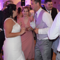 Wedding: Julie and Brandon at Justin's Tuscan Grill, East Syracuse, 7/8/17 9