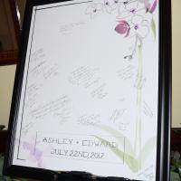 DJ Peter Naughton shares photos from Ashley and Edward's wedding at Lincklaen House in Cazenovia, NY - July 2017