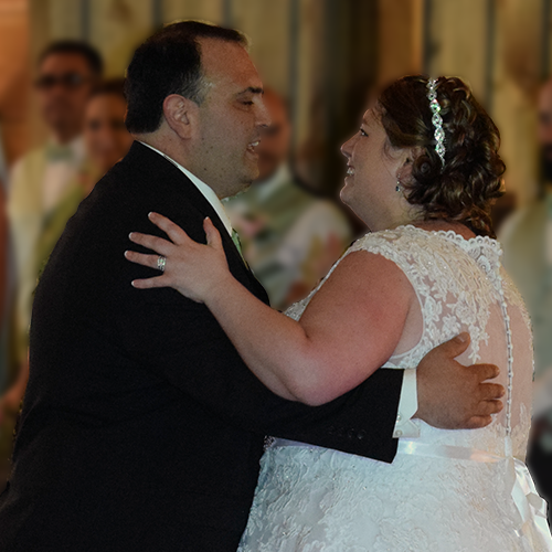 Kimberly and Giovanni's wedding at Wolf Oak Acres in Oneida, NY, June 2018
