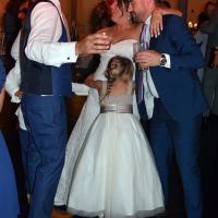 Wedding: Kara and Jordan at SKY Armory, Syracuse, 8/4/18 16
