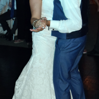 Wedding: Kara and Jordan at SKY Armory, Syracuse, 8/4/18 17