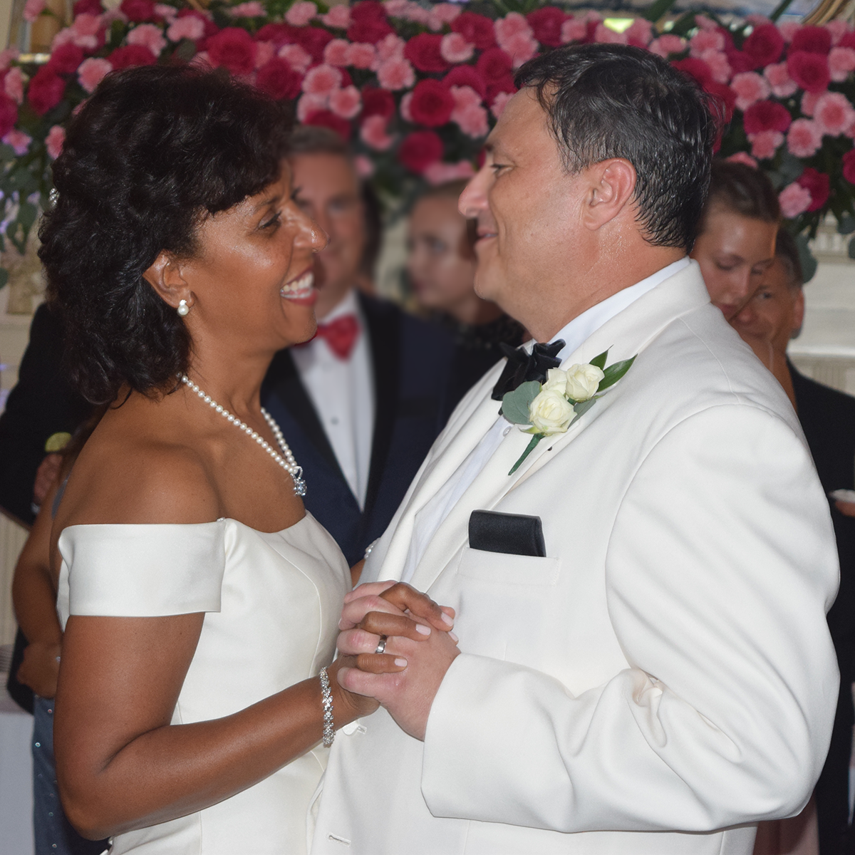 Cydney and Jeffry's wedding at Onondaga Golf & Country Club, Fayetteville, NY. July 2019. Photo by DJ Peter Naughton