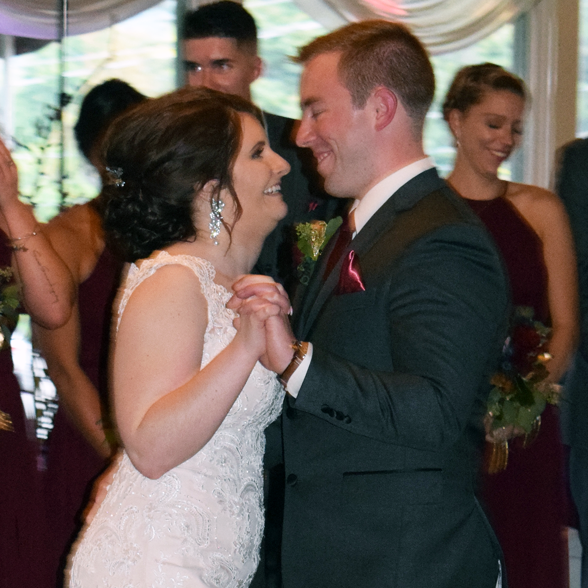 Sarah & Andy's wedding at Daniele's Valley View, Utica, September 2019. Photo by DJ Peter Naughton www.www.peterthedj.com